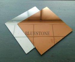 Revêtement coloré Wall-Claddings miroir, Decotative Art Glass fabriqués en Chine