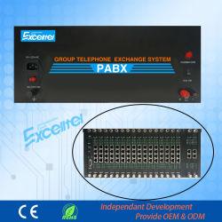 Central Digital Exchange D256A com 24 Linhas Co 255 ramais PBX