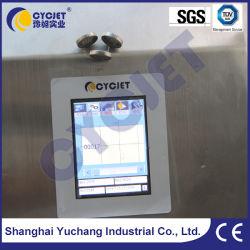 Cycjetalt Jet390 Manual de marca de máquina de codificación de lote en el Metal de impresión