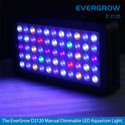 Evergrow 120W Dimmable LED Aquarium Light für Coral Reef