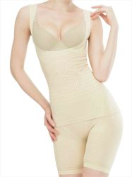 Naadloze veel Infrarode Shaper van het Lichaam van Shapewear van het Kostuum van het Vermageringsdieet Tourmaline Bodysuit