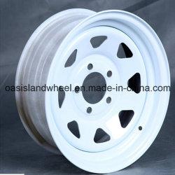 15X7 rodas do reboque de aço para aplicação de alta velocidade