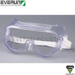 De anti Beschermende brillen die van de Veiligheid van de Mist Beschermende brillen werken