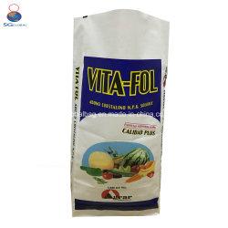 SGS Ce FDA 50kg de azúcar en envases de alimentos de semillas de mijo arroz fertilizante alimentación BOPP laminado Polipropileno Bolsa tejida