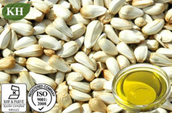 高く自然なベニバナの種油のリノール酸70%