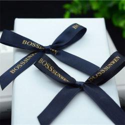 チョコレートボックスのために自己接着手細工のサテンのリボンのちょうネクタイ