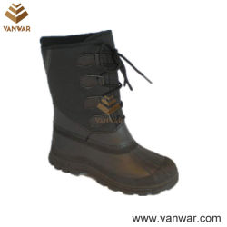 TPR Waterproof Outsole (WSB022)를 가진 Stiched Snow Boots