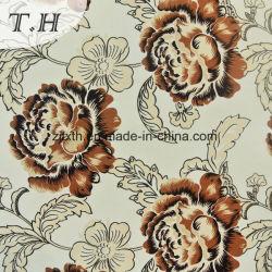 Motif de fleurs en étoffe de bonneterie d'impression