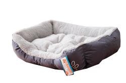 Oxford-Vierecks-Ultra-Weiches wasserdichtes Haustier-Bett-Kissen