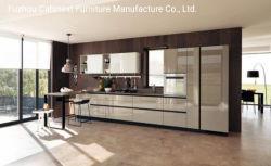Fabrieksaangepaste Moderne Keukenkast Voor Project Of Verkoop