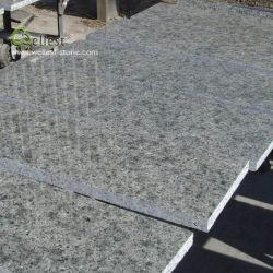 Bodenbelag elegante Steindes patio-Straßenbetoniermaschine-Fliese-schnitt grauer grüner Granit-G306 Architektur-Entwurf zurecht