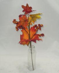 L'usine avec des fruits de l'érable artificielle Bouquet pour décoration intérieure & Harvest