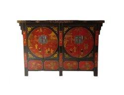 Старинные деревянные окрашенные Sideboard Китая (LWC249)