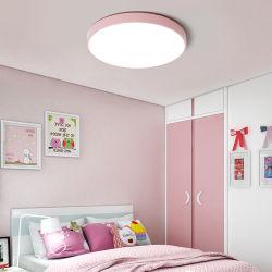 Raum-Licht-Studien-Schlafzimmer-Stab-Deckenleuchten des modernen ultradünnen Decken-Lampen-Süßigkeit-Farben-Kindes des Rundschreiben-300mm 400mm 500mm 600mm LED