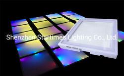 5 Jahre der Garantie-Musik-aktive LED Pixel-Stadiums-Dance Floor-Licht-für Freien-Beleuchtung-Weihnachtshochzeits-Dekoration-Licht zuhause Disco RGB-LED