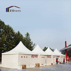 خيمة مخصصة لمناسبات الإعلان في الحديقة بحجم 5 أمتار × 8 أمتار × 10 أمتار مخصصة لتنظيم الباغودا