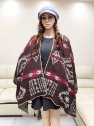 Lange Hete het Verkopen het Verwarmen Geometrische Openings en Dik makende Sjaal