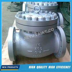 API 6D 산업용 플랜지 스윙 체크 밸브 역류 방지 밸브 NRV
