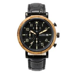 Klaar om Horloges van het Kwarts van de Premie van het Merk te verschepen Bewell de Multifunctionele Houten