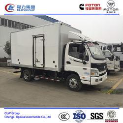 Foton Aumark 3 Ton Refrigerated Van Cargo Truck