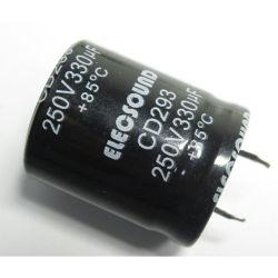 85c /105c 힘 장비를 위한 스넵 식 알루미늄 전해질 축전기