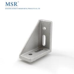 3060c-8b dentro do suporte de canto Anjo de montagem para o perfil de alumínio