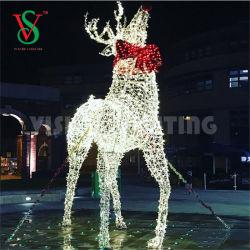 Светодиод оленей мотивы для наружного освещения рождественские украшения