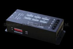 コントローラをつける装飾的なライトLED装飾5年の保証LED Spiピクセルアドレス指定可能なライトRGB DMXデコーダーのコントローラ