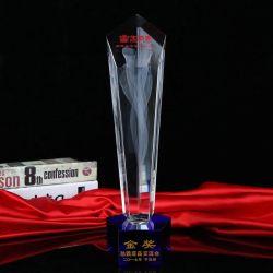 Spazio in bianco di cristallo libero con inciso per il trofeo di cristallo (JD-CB-306)