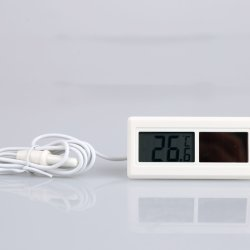 LCD numérique la température de l'énergie solaire le thermomètre indicateur du panneau