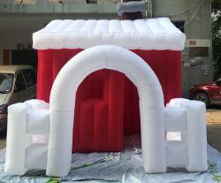 Aufblasbares Weihnachtshaus für Dekoration