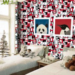 À prova de PVC Kids papéis de parede 3D para decoração