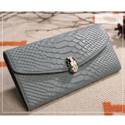 Горячий популярных змеиной кожи кошелек вечер Carteira Feminina высокое качество кожаное портмоне Al368