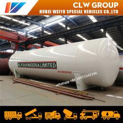 120m3 de stockage de GPL du réservoir pétrolier 60 tonnes de gaz propane cuve sous pression pour l'usine de remplissage GPL au Nigéria