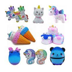 Anti-Stress espuma de PU Subida Lenta Bonitinha Squishy brinquedo para criança