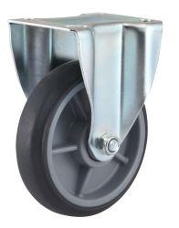 최고 격판덮개 엄밀한 TPR 피마자 바퀴 (아연 도금)