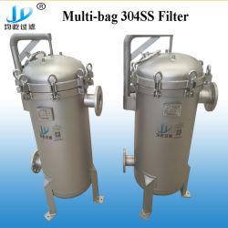 3 ano de garantia 1um 304ss decapagem do alojamento do filtro de mangas para tratamento de água