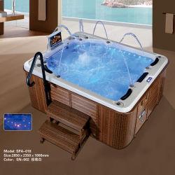 Корея дома массаж пузырек воздуха Deluxe ванна спа с озона