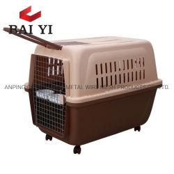 개 여행 수송 상자 개 애완 동물은 운반대 개를 감금한다