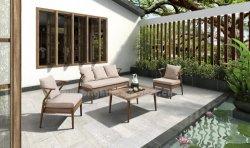 Jardin de style moderne chinoise Loisirs Meubles en osier canapé de plein air en aluminium