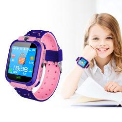 子供の子供サポートSIMカードの腕時計装置のための2019年のGPSの追跡者S12のスマートな腕時計