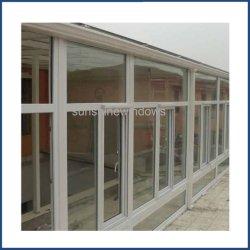 Doble acristalamiento de ventanas de PVC Casement Factory