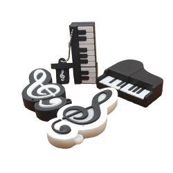 La musique de piano Fancy Stick USB Cute Pendrive USB2.0 gros stock de 128 Mo 256 Mo 512 Mo 1 Go 2 GO 4 GO 8 GO de 16Go et 32 Go à 64 Go