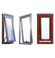 米国式の緩和されたガラスのWindowsアルミニウムフレームの開き窓のWindows