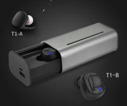 Il metallo senza fili magnetico della cuffia avricolare del trasduttore auricolare popolare di Bluetooth mette in mostra il trasduttore auricolare dell'in-Orecchio della cuffia di Bluetooth