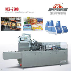 Auotmatic Food/Biscuit/Cookie/Candy/Snack/Pastry/Cake/Pizza Cartoning Carton Packing Box Packing Packing Cartoner machine Voor grote dozen