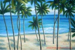 La reproduction Daniel Cocotier paysage Peinture d'huile pour la décoration murale