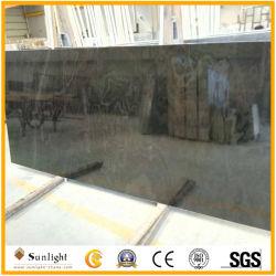 熱い十字によって切られる磨かれた黒檀は床タイル、カウンタートップ、ロビーのための大理石の平板を並べる