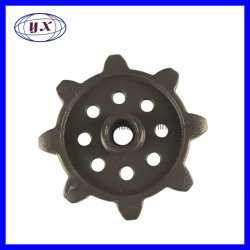 投資鋳造は農業機械の収穫機の部品のための駆動機構のスプロケット車輪を分ける