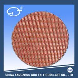 高温抵抗高シリカファイバグラス水フィルタメッシュ